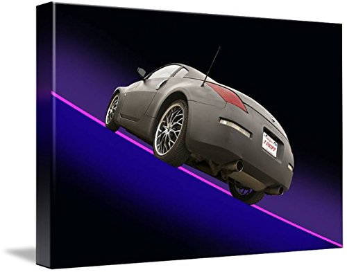 Wall Art Print entitled 2008 Nissan Z350 'Drifter' I by Dave