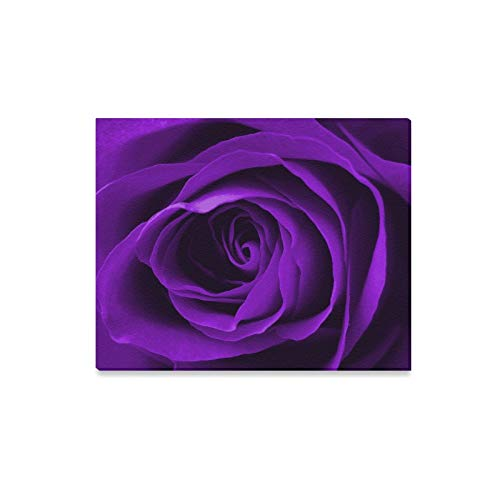 XINGCHENSS Wall Art Painting Digitally Enhanced Purple Rose Prints On Canvas The Picture Landscape Pictures Oil for Home Modern Decoration Print Decor for Living Room