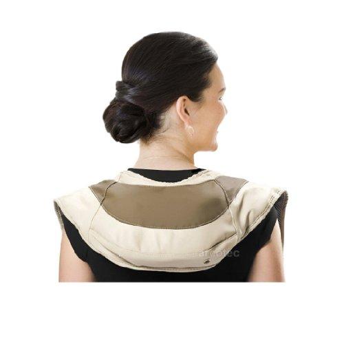 @tec Nackenmassagegerät Wellness Klopfmassage - Nacken-, Schulter-, und Rückenmassage - 39 Massagevarianten, 12 Intensitätsstufen - Leistung: 45W, Gewicht: 2,4Kg