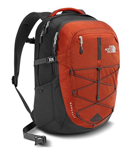 (The North Face Unisex Borealis Ketchup Red/Asphalt Grey Backpack)