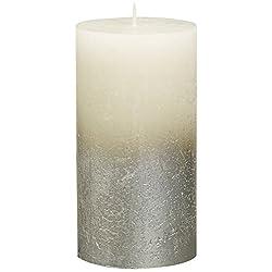 BOLSIUS Rustic Set of 6 Pillar Candles – 5 x2.75