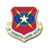 information center - US Air Force Information Warfare Center Decal Sticker 3.8