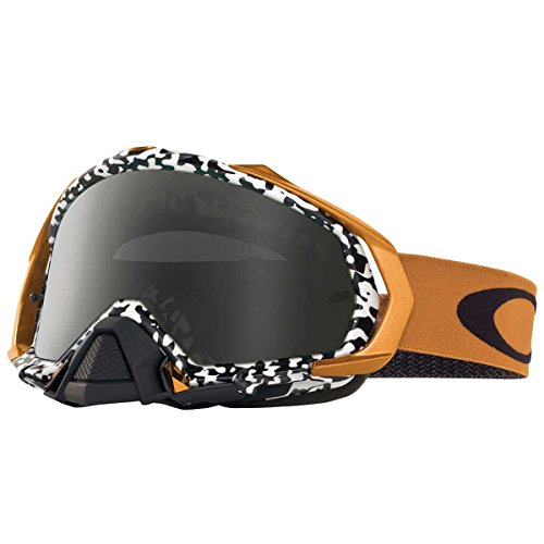 Oakley Mayhem Pro Men's Sand Goggles (Viper Room White Frame/Dark Grey Lens)