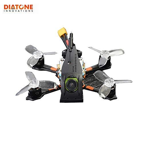 Generic Diatone 2019 GT R249 95mm 2 Inch 4S FPV Racing RC Drone PNP w  F4 OSD 25A RunCam Micro Swift TX200U Racer Multiredor Black White Black