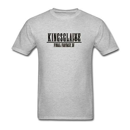 JUXING Mens Kingsglaive Final Fantasy XV Science Fiction Film T-shirt Size M ColorName