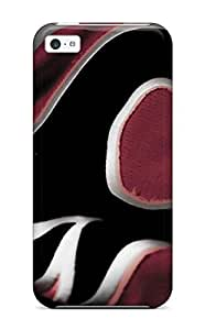 Fashionable Style Case Cover Skin For Iphone 5c- Calgary Flames (71)