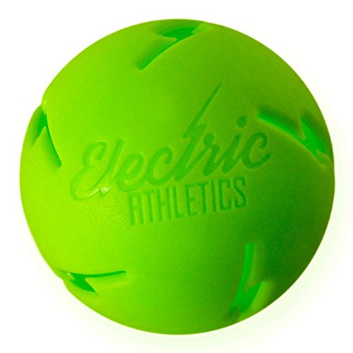 Electric Athletics Lightning Ball Training Baseball, Green (12 Pack)