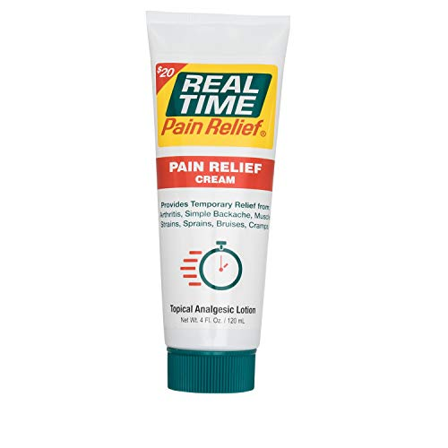 Real Time Pain Relief Pain Relief Cream, 4