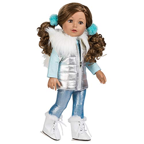 Adora Amazing Girls 18-inch Doll, ''Ice Skating Ava'' (Amazon Exclusive)