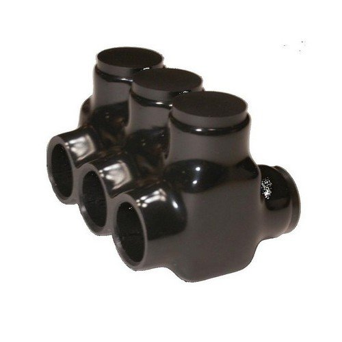 Morris 97690 Black Insulated Multi-Cable Connector - Dual Entry, 7.5 in. B00UKGAVF8