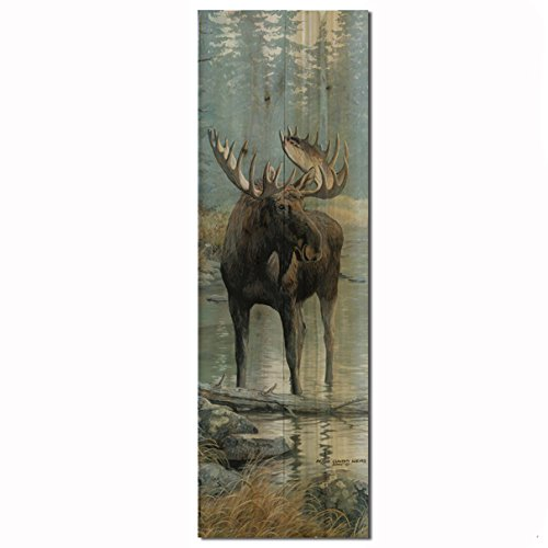 WGI-GALLERY WA-QWM-412 Quiet Water Moose Wall Art