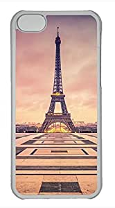 iPhone 5c case, Cute Eiffel Tower 10 iPhone 5c Cover, iPhone 5c Cases, Hard Clear iPhone 5c Covers