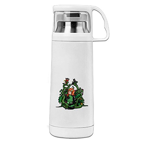 Bekey Poison Ivy Girl Stainless Steel Vacuum Travel Mug With Handle Cup Water Bottle -