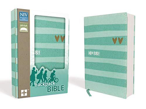 NIV, Backpack Bible, Compact, Flexcover, Teal ()