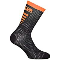 SIX2 Calza ARROW MERINOS BLACK/ORANGE 43/46