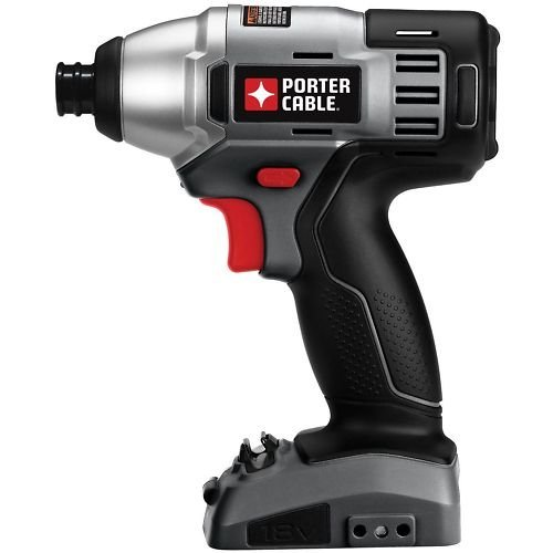 Porter Cable PCL180ID 18V 1/4 inch Hex Impact Driver - (Bare Tool - No Battery or Charger) by Porter Cable