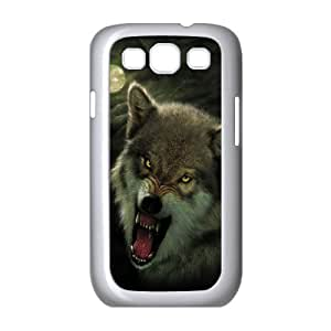ANCASE Phone Case Wolf Howling Hard Back Case Cover For Samsung Galaxy S3 I9300