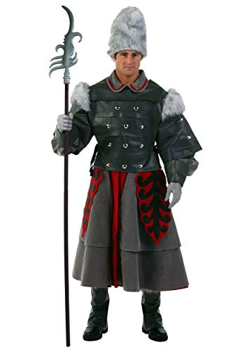 Deluxe Witch Guard Costume Standard Gray -