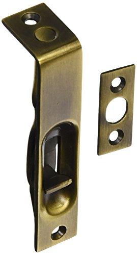 Deltana 4FBS5 HD Solid Brass 4-Inch Flush Bolt ()