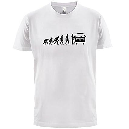 à La Fenêtre Dun Camping Car Dressdown T Shirt Evolution Of Man Homme