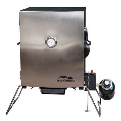 Masterbuilt Compact Outdoor Camping Tailgating Portable Propane BBQ Smoker (Portable Propane Smoker)