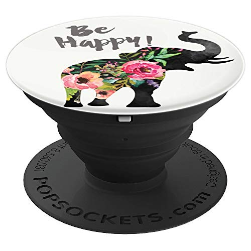 Optimistic Elephant - Phone Mount, Hand Holder Knob 6631 - PopSockets Grip and Stand for Phones and Tablets