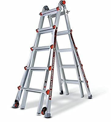 Little Giant Ladder Systems 13-Feet 250-Pound Duty Rating Alta-One Model 13 Ladder System