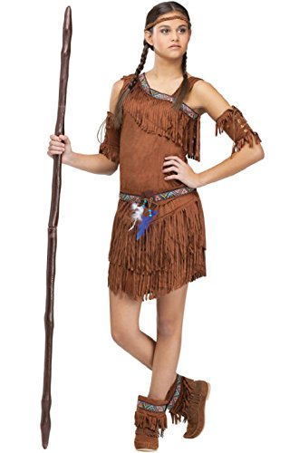 Native American Indian Pow Wow! Girls Teen (World Book Day Costumes Plus Size)