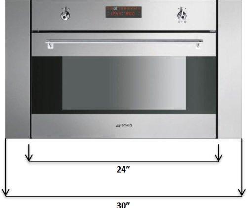 Smeg Stainless Steel Oven Trim Kit