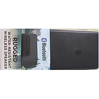 Shen Zhen DNS 16WMS129-BLK Rugged Water-Resistant Wireless Speaker - Black