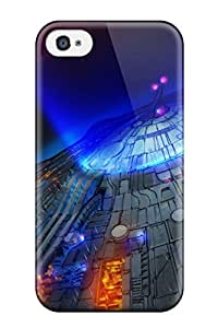 Christmas Gifts F4D4II5S7NRX7EAF Fashionable Style Case Cover Skin For Iphone 4/4s- Alien
