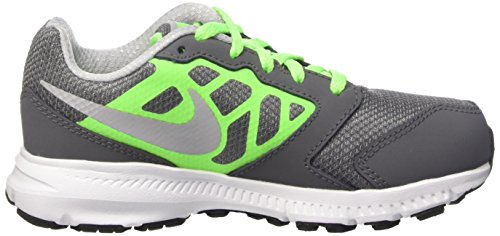 Gry Kids' Ps Shoes 6 Gs Wlf Grey Blanco Indoor Dark Grn wht vltg Unisex Downshiffter Verde Nike Gris Multisport SqxZw1xR