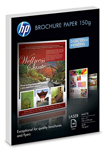 HP Brochure Paper | Matte | 8.5x11 | 50 Sheets
