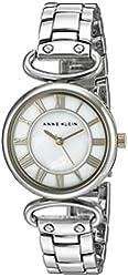 Anne Klein Women's AK/2123MPTT Silver-Tone Bracelet Watch