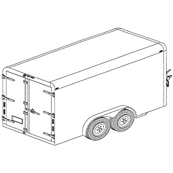 41THgbbaKfL._SL500_AC_SS350_ amazon com covered cargo tandem axle trailer blueprints everything