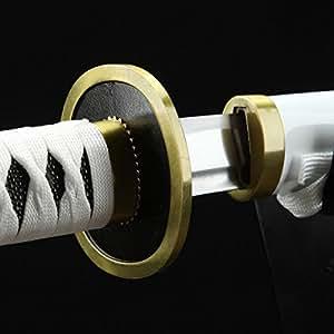 Full Hand Forged Katana 1045 Carbon Steel Cosplay One Piece Roronoa Zoro Replica