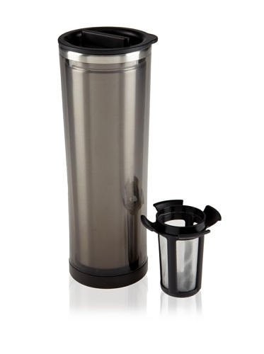 Takeya Tea/Coffee Tumbler, Black, 16-Ounce