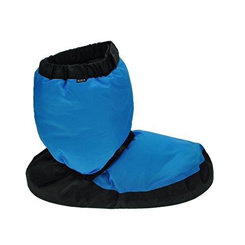 Botas de calentamiento para niños Bloch Childs Fluorescente Azul