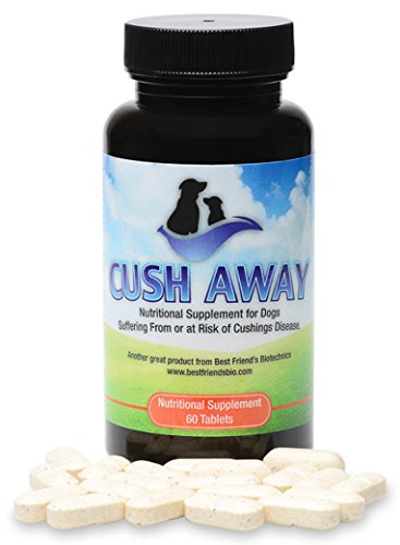 Best Friends Cush Away - Cushing's Disease All Natural Nutritional Supplement (Natural Remedies For Cushings Disease In Dogs)