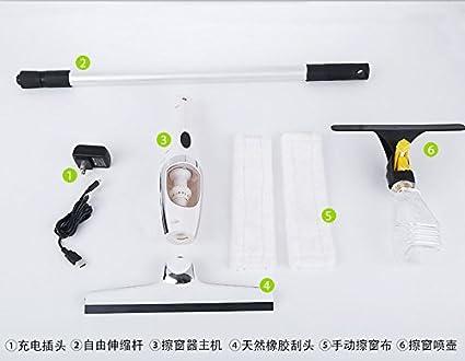 Eléctrico de mano recargable inalámbrico toallitas toallitas de cristal de ventana, absorción de agua del