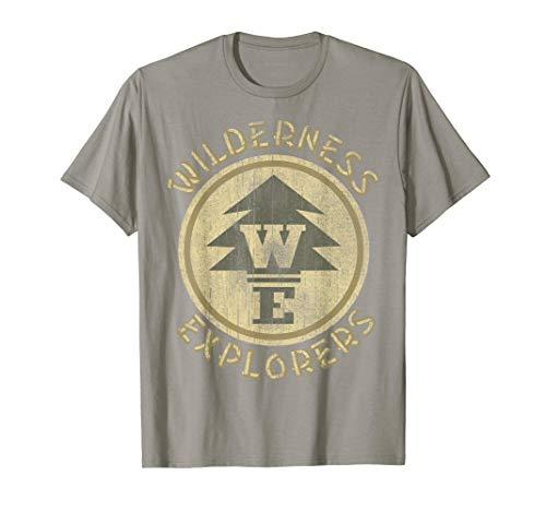 Disney Pixar Up Wilderness Explorer Badge Patch T-Shirt C1