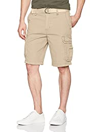 UNIONBAY mens Survivor Belted Cargo Short - Reg and Big & Tall Sizes