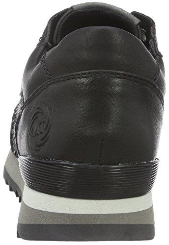 Marco Tozzi 23702, Baskets Basses Femme, Noir (Black Ant Comb 096), 36 EU