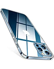 TORRAS Crystal Clear Case Compatible for iPhone 12, Compatible for iPhone 12 Pro [Long-Lasting] Clear Case Ultra Thin Slim Soft TPU Silicone Gel Phone Cover 6.1 inch, Full Clear