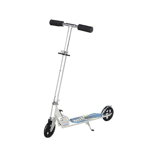 WWWNYY Scooter, Patinete fácil de Plegar, Scooter de Empuje ...