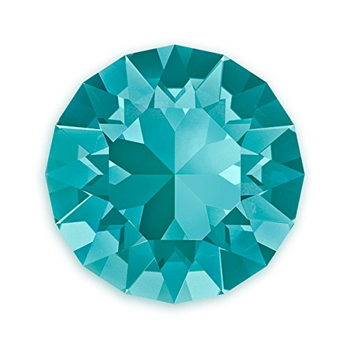 Swarovski Xirius Rose Chatons 1088 6mm Blue Zircon (Package of 5) ()