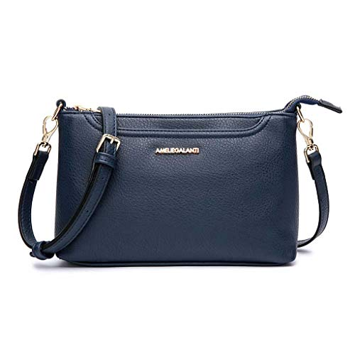 Blue Satchel Handbags - 1