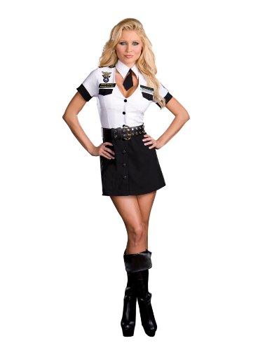 Dreamgirl Women's Strip Search Officer: Tara U. Clothesoff (Sexy Costumes Strip)