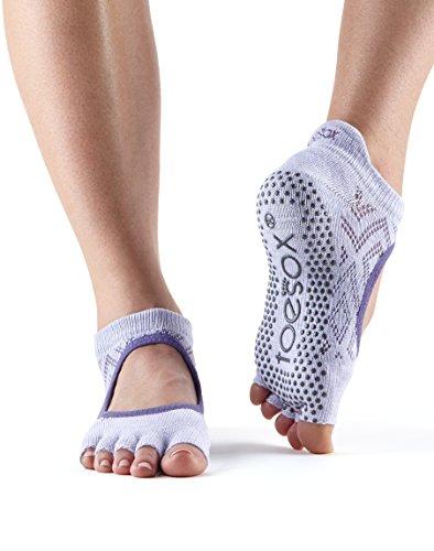 paio calzini essere Lotus possono per Bellarina usate ballo danza antiscivolo Calzini da e calze Yoga ToeSox Barre da calze Grip Diamond Pilates 1 Fitness 1UxwqP
