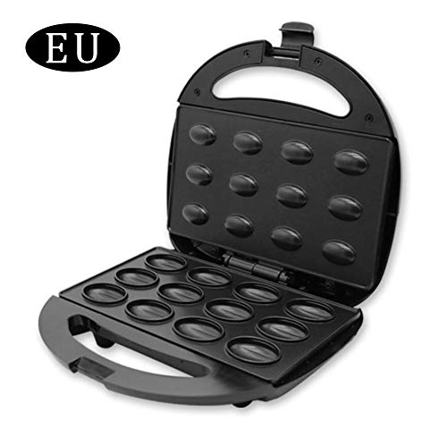 nut machine Toaster Electric Grill Baking Machine Household Floating Nut Griddle Maker Fashion Premium Durable Bakelite Case Stainless Steel Frying Pan for Breakfast